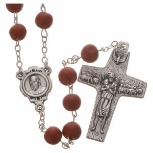 Duftende Rosenkränze: Rosenkranz mit Rot-Jasminduft Papst Franziskus