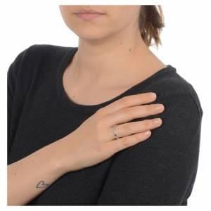 Gebetsringe: Rosenkranz Ring mit Bällchen Silber 800