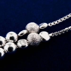 Silber Rosenkränze: Rosenkranz Silber 800 Perlen fliessen