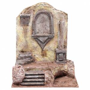 Rovine tempio con nicchia 30x25x20 cm s1