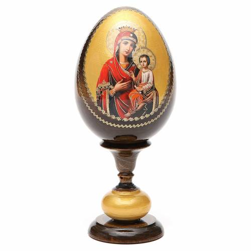 Russian Egg Idigitria Gorgoepikos découpage 20cm s1