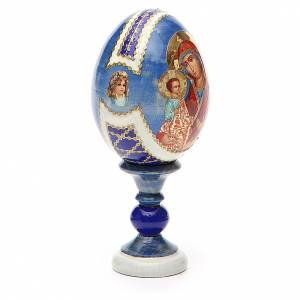 Russian Egg Virgin of the three hands Fabergè style 13cm s4