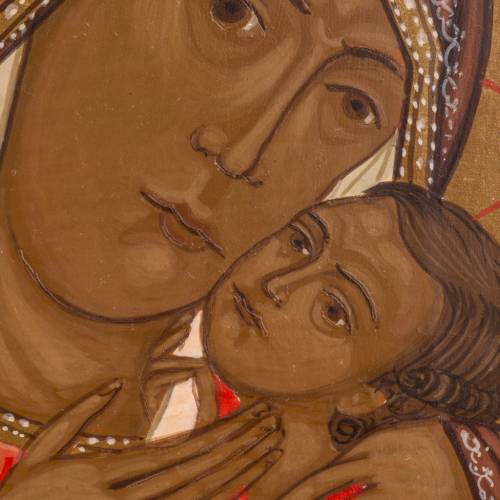 Russian icon, Our Lady of Korsun 20x17cm s2