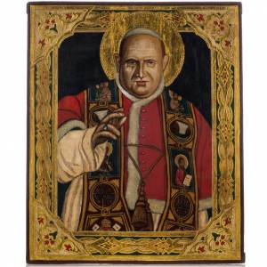 Russian hand-painted icons: Russian icon, Pope John XXIII
