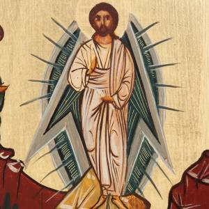 Russian hand-painted icons: Russian painted icon, Transfiguration