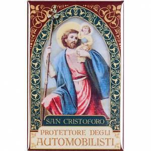 Saint Cristoforo badge, gold s1
