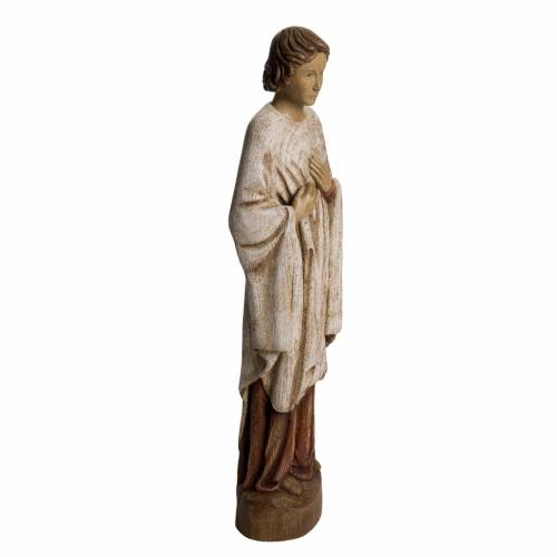 Saint John at Calvary statue in painted Bethléem wood, 51 cm s2