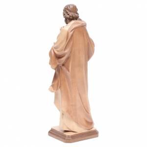 Saint Joseph de Guido Reni bois patiné multinuance Valgardena s3