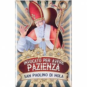 Saint Paolino di Nola badge, lux s1