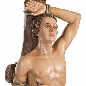 Saint Sebastian fiberglass statue 125 cm s2