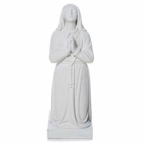 Sainte Bernadette poudre de marbre 35 cm s2
