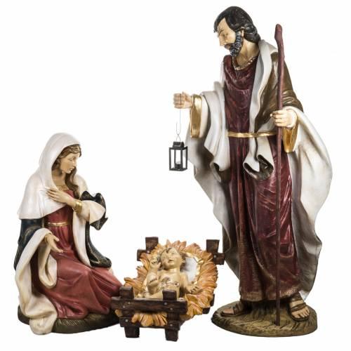 Sainte Famille 180 cm résine Fontanini s1