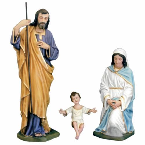 Sainte Famille classique fibre de verre peinte 100cm s1