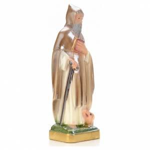 Imágenes de yeso: San Antonio Abad 20 cm Madre Nacarado