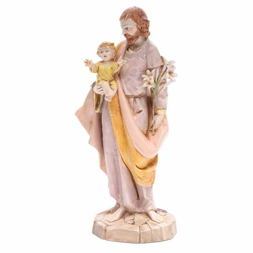 San Giuseppe 30 cm Fontanini tipo porcellana s2