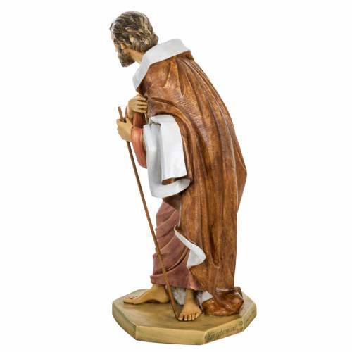 San Giuseppe presepe 65 cm Fontanini resina s4