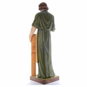 San José Obrero con niño 150 cm belén fibra de vidrio coloreada s3