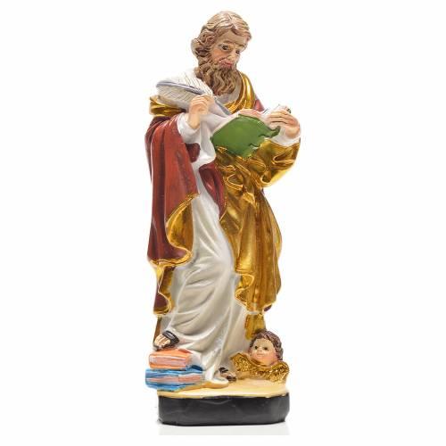 San Matteo 12 cm con immaginetta PREGHIERA SPAGNOLO s1