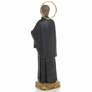 Santa Gemma Galgani 20 cm pasta di legno dec. fine s3