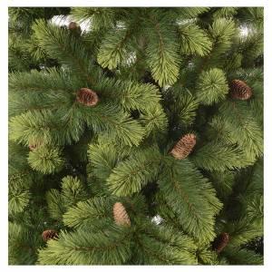Sapins de Noël: Sapin de Noël 225 cm vert avec pommes de pin Woodland Carolina