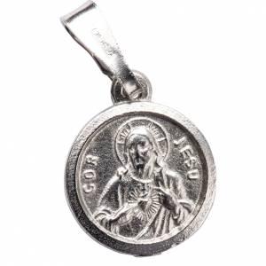 Scapolare argento 800  diam 1 cm s1