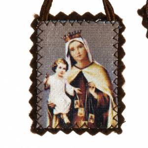Scapular, traditional in fabric s3
