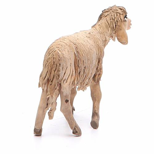 Sheep standing in terracotta 13cm Angela Tripi s3