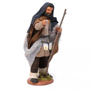 Shepherd with lantern 14 cm nativity set accessory s3