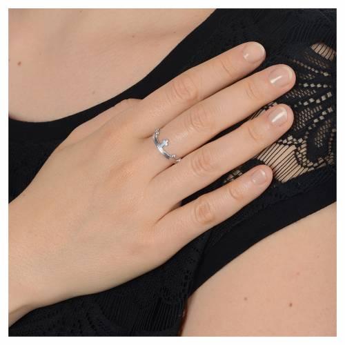 Single decade prayer ring in 800 silver s5