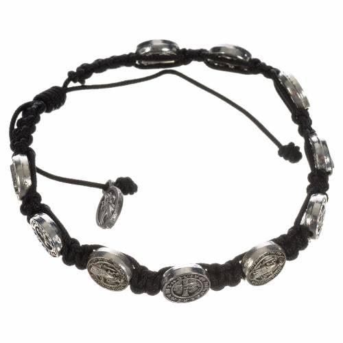 Single-decade Saint Benedict bracelet s5