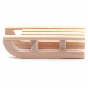 Accessori presepe per casa: Slitta legno 1,5x5x2 cm per presepe