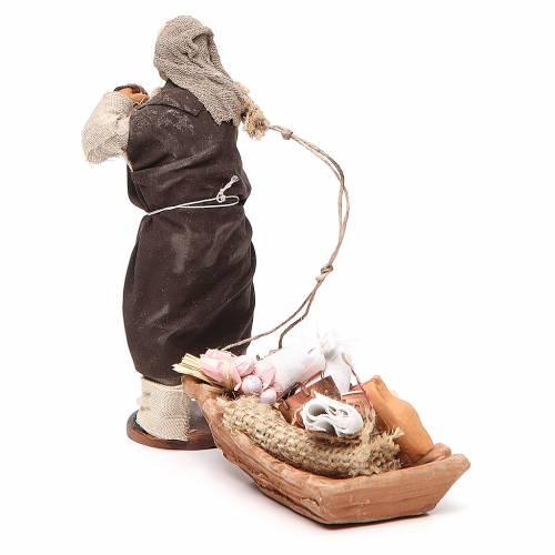 Soap seller, Neapolitan nativity figurine 12cm s3