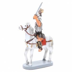 Soldat à cheval 10 cm crèche gamme Martino Landi s2