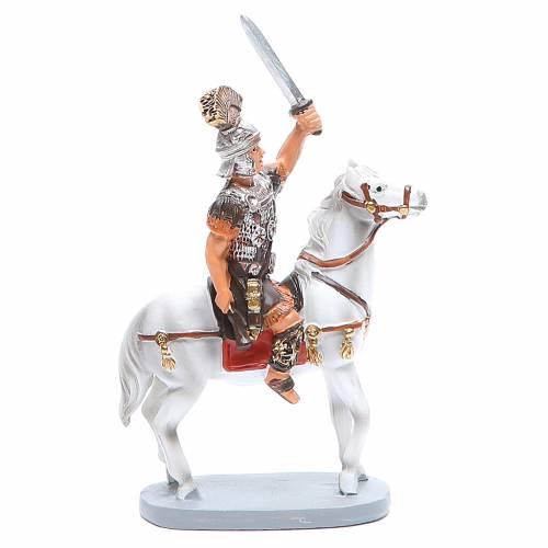 Soldat à cheval 10 cm crèche gamme Martino Landi s1