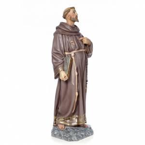 St François de Assisi 100 cm pâte à bois s4