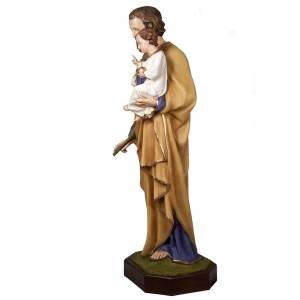 St Joseph avec enfant statue fibre de verre 160 cm s3