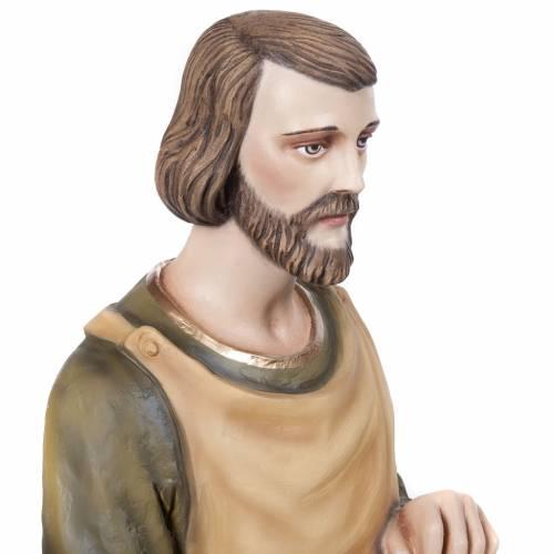 St Joseph menuisier statue fibre de verre 80 cm s3
