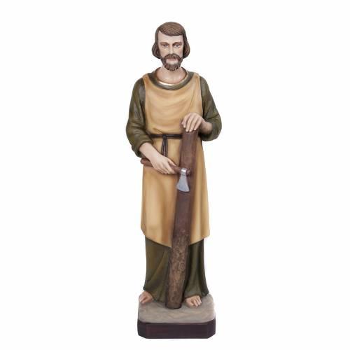 St Joseph menuisier statue fibre de verre 80 cm s1
