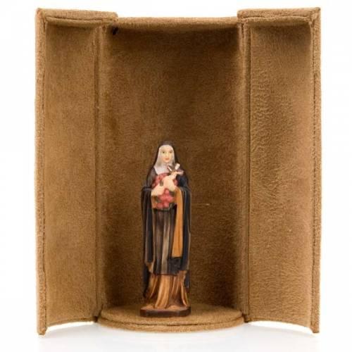 Statua bijoux Santi con scatola nicchia s2