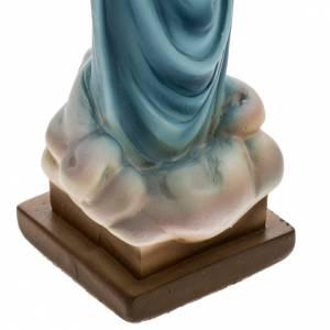 Statua Madonna Medjugorje gesso 25 cm s3