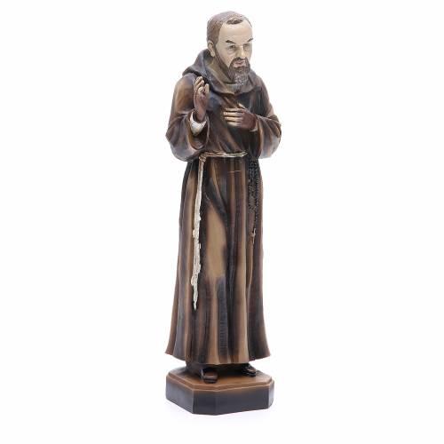 Statua P. Pio da Pietrelcina 30 cm resina s4