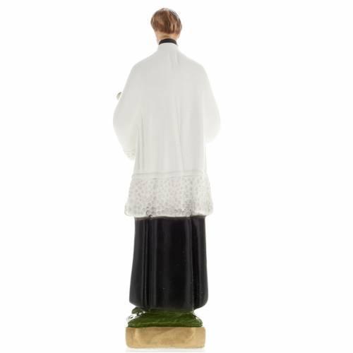 Statua San Luigi gesso 20 cm s3