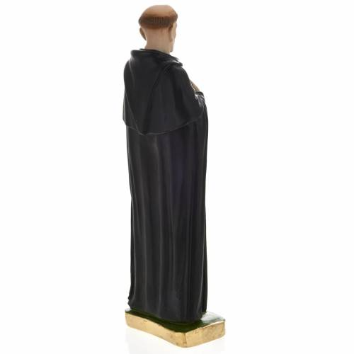 Statua San Pellegrino Laziosi 30 cm gesso s4