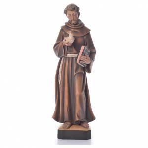 Statuen aus gemalten Holz: Statue Heilig Franziskus
