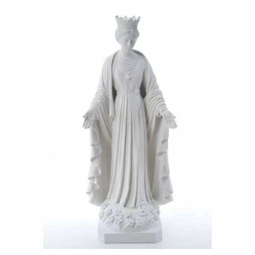 Statue Notre Dame de la pureté marbre reconstitué s1