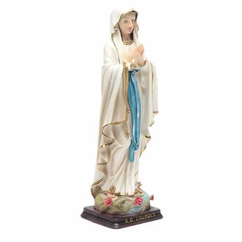 Statue Notre-Dame Lourdes 24,5 cm résine s3