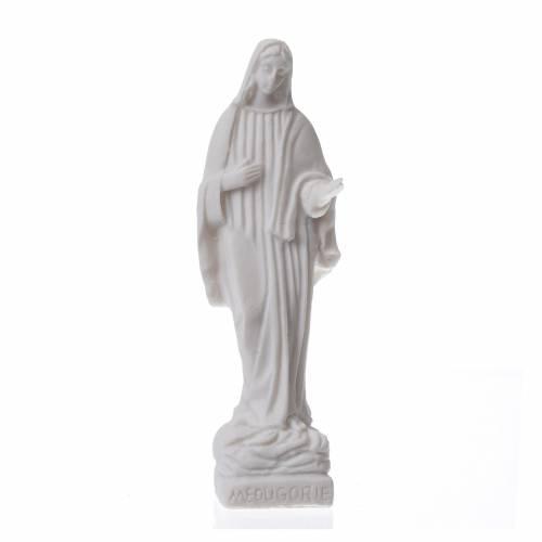 Statue Notre-Dame Medjugorje h 9 cm s1
