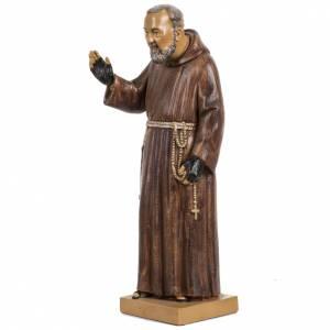 Statuen aus Harz und PVC: Statue Pio von Pietralcina 30cm Holz Finish, Fontanini