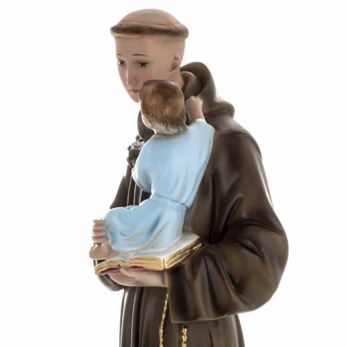 Statue Saint Antoine et enfant plâtre 60 cm s4