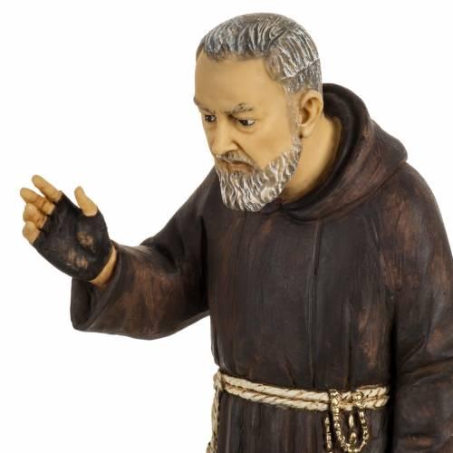 Statue Saint Pio 50 cm résine Fontanini s2